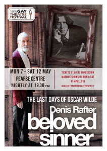 Friend of Dublin Shakespeare Society Denis Rafter